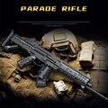 Gun Spielzeug Parade Gewehr Pistole Military Gun Modell Bausteine Technische Montage Stadt Polizei Spiel Pistole Ziegel Kinder Geschenk