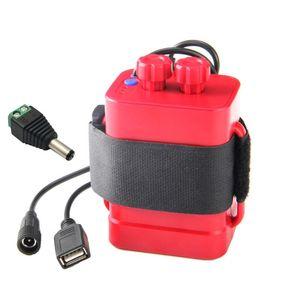 Image 5 - DIY 6x18650 סוללה אחסון מקרה תיבת USB 12V אספקת חשמל עבור טלפון LED נתב