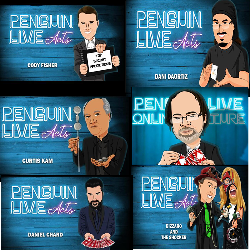 2012-2016 Penguin Live Act 260 Pieces  Magic Tricks  , Magic Instruction