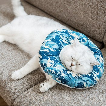 Protection Medical Cone Collar Inflatable Pet Collar For A Health Dog And Cat