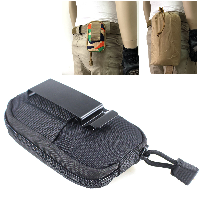 Tactical Foldable Molle Handcuff Pouch Holder Case Holster Belt Security Durable