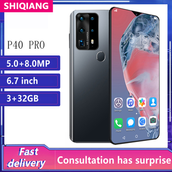 Global Version SOYES P40 Pro 6.7Inch Mobile Phones 4800 mAh 32G ROM Smartphones Hexa Core Water Drop Screen Cell Phone New Camer - discount item  56% OFF Mobile Phones
