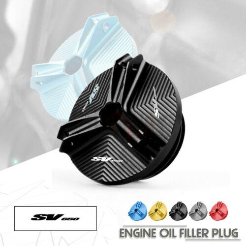 Алюминиевый Масляный фильтр двигателя CNC для Мотоцикла SUZUKI SV650 SV650S SV 650