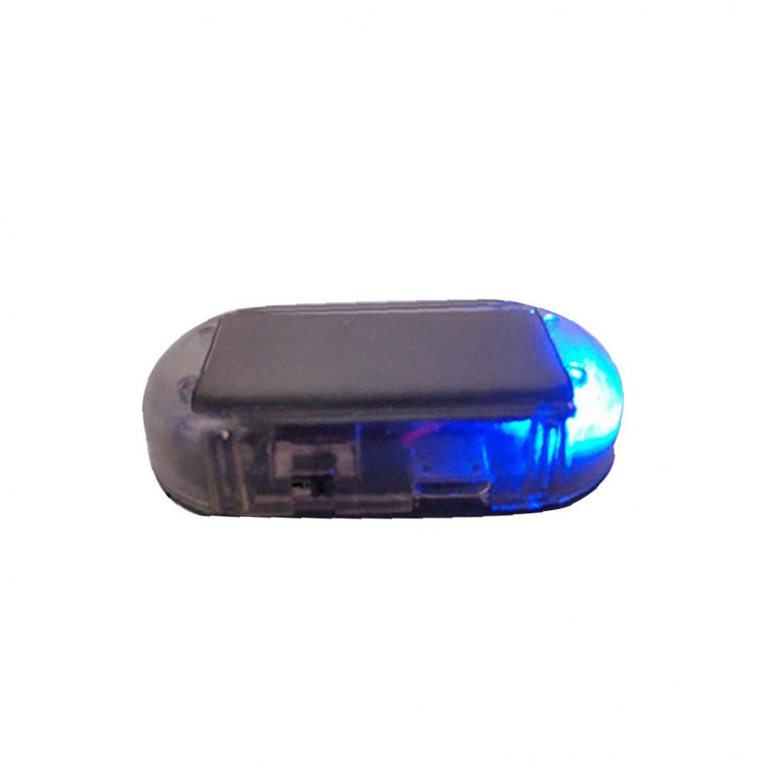 Solar Energy Simulation Dummy Alarm Warning Security Anti-Theft Flashing Light