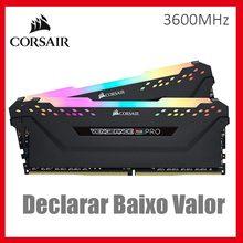 C16 Corsair Vengeance DDR4 3600mhz Desktop Memory PC 16GB 8GB Rgb Pro PC4-28800 32GB
