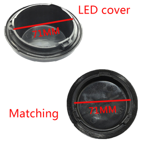 Image 5 - 1 pc for ford Taurus 14735400 Rear cover headlight Xenon lamp LED bulb extension dust cover Headlamp dust cover waterproof cap