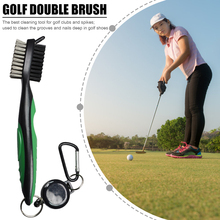 Carabiner Brush Cleaning-Tool Golf Sport-Ornaments Exercise Retractable Outdoor for Club