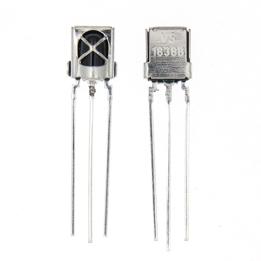 10pcs VS1838 TL1838 VS1838B Infrared Receiving Head Receiver