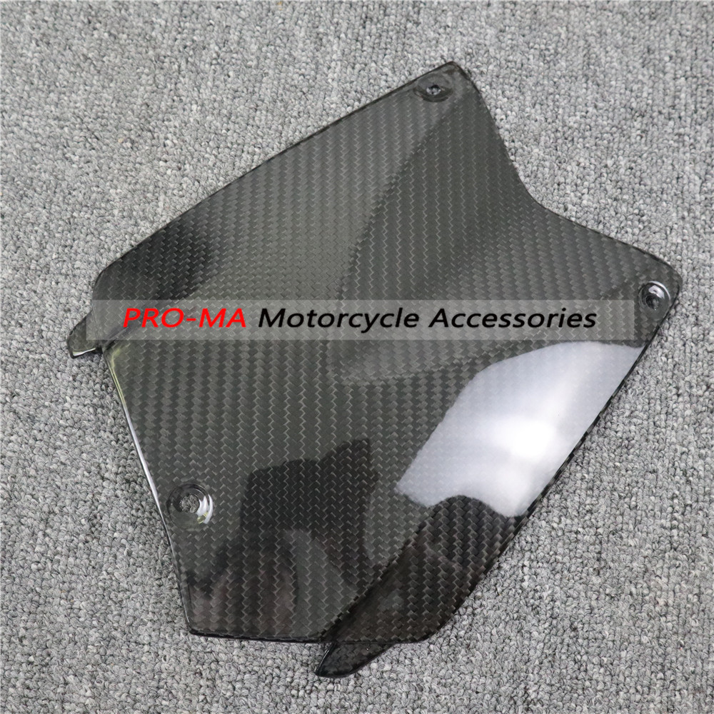 Motorcycle Center Tank Cover In Carbon Fiber For BMW K Series K1300R, K1200R Twill Glossy Weave