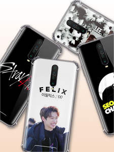 Case for Stray Kids Xiaomi Redmi Coque Soft-Covers Anti-Fall-Phone Note-8t K20 K30 9