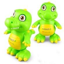 Dança elétrica crocodilo dinossauro andando música luz animal boneca brinquedos engraçados crianças presente