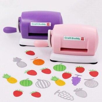 DIY Die Cutting Machine Plastic Craft Scrapbook Album Cutter Paper Cutting Embossing Scrapbooking Die-Cut Machine Handmake