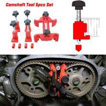 5 Pcs Universal Cam Camshaft Lock Holder Car Engine Cam Timing Locking Tool Set Retainer Timing Belt Fix Changer