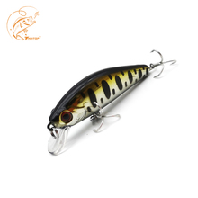 Thritop New Minnow TP109 Fishing Sinking Bait 6.5g 55mm High Quality Hard Lure Wobbler Bass Artificial Tackle