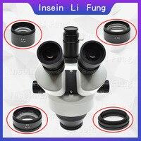 0.5X 0.7X 2X WD30 WD100 WD130 WD165 Binocular Trinocular Microscope Stereo Microscope Auxiliary Objective Lens Barlow Lens
