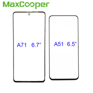 Image 2 - 10PCS/Lot Top Quality For Samsung A31 A315 A41 A415 A51 A515 A71 A715 Front Outer Glass Len Touch Screen Panel Replacement