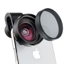 ULANZI 16 มม.HDมุมกว้างเลนส์กล้องCPLเลนส์UniversalสำหรับiPhone Android Samsung HUAWEI Smartphone