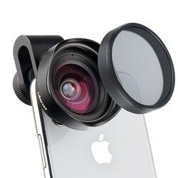 Ulanzi 16mm hd grande anjo lente do telefone com cpl câmera filtro de lente universal para iphone samsang android huawei smartphone