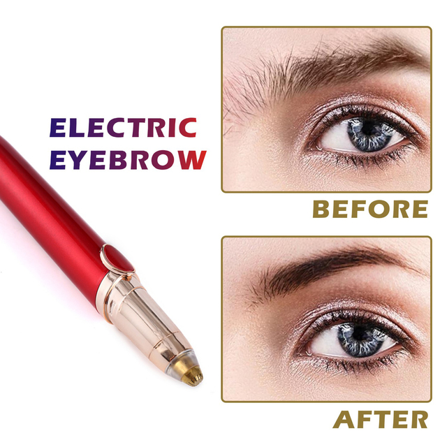 New Mini Electric Eyebrow Trimmer Face Hair Remover Instant Painless Ear Brow Trimmer Care Portable Shaver Razor Epilator 5