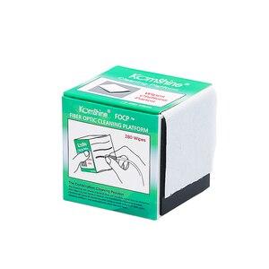Image 4 - Fiber optik temizleme aracı optik konektör temizleyici temiz mendil tozsuz kağıt
