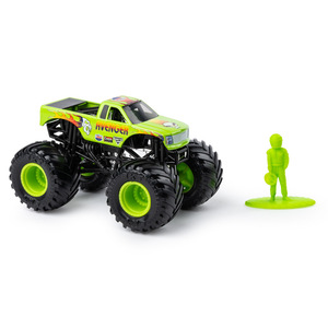 Image 3 - Original SPIN Master Monster Jam monster truck boy child toy alloy car model inertia four wheel drive off road vehicle gift