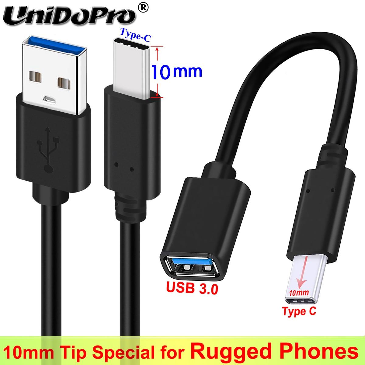 10mm uzun Tip C ucu hızlı şarj aleti kablosu Ulefone için zırh 10 5G 9 9E X8 8 7E 7 6S 6E 6 5 3WT 3W 3T 3 güç 6 5S 3S not 9P 11P