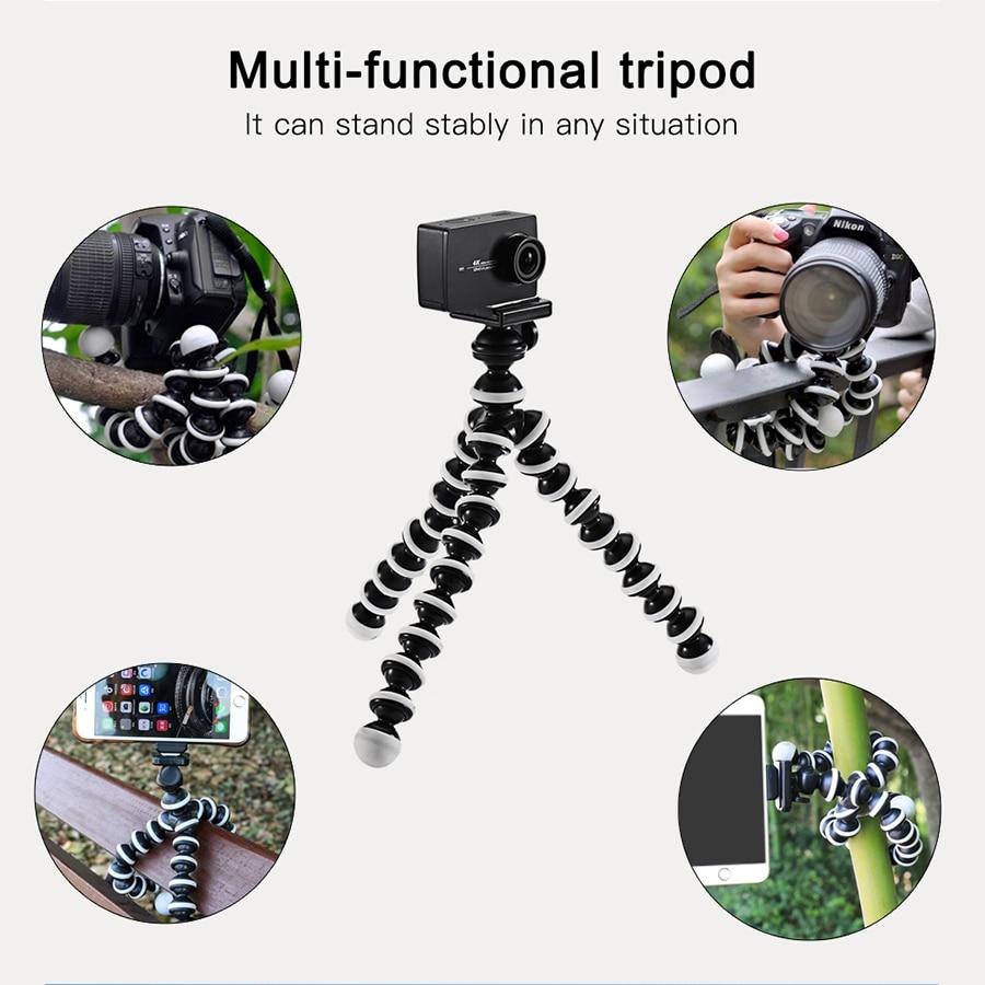 Jumpflash Octopus Mini Tripod Bracket Portable Flexible Smartphone Clip Holder Camera Stent Smartphone Tripods Foldable Desktop 4