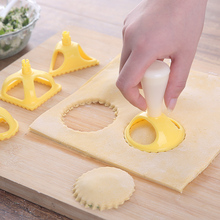 1set Shapes Dumpling Press Maker Ravioli Health Plastic  flower Round Bucket Machine pastry cutter for Baking & Pastry Tools