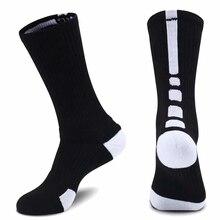 Дышащие мужские толстые велосипедные носки для футбола, бега, носки для занятий Баскетболом, футболом wo мужские лыжные волейбольные носки, носки для велоспорта