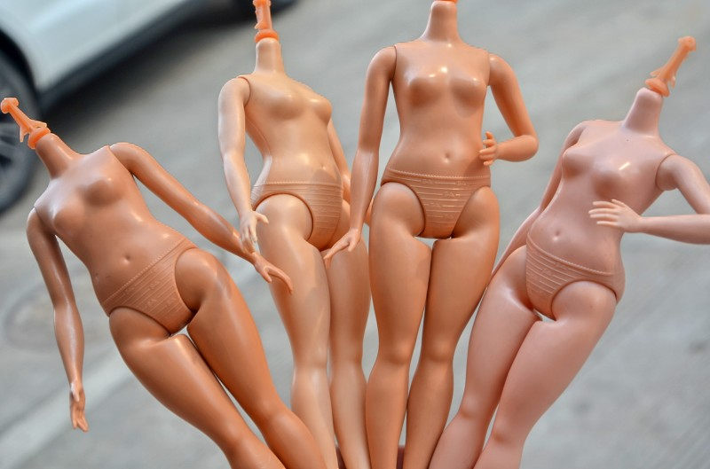 Fat Barbi DIY Body Without Head 1pc DIY  Nude Naked Doll Body For Girl Doll House Children Gifts