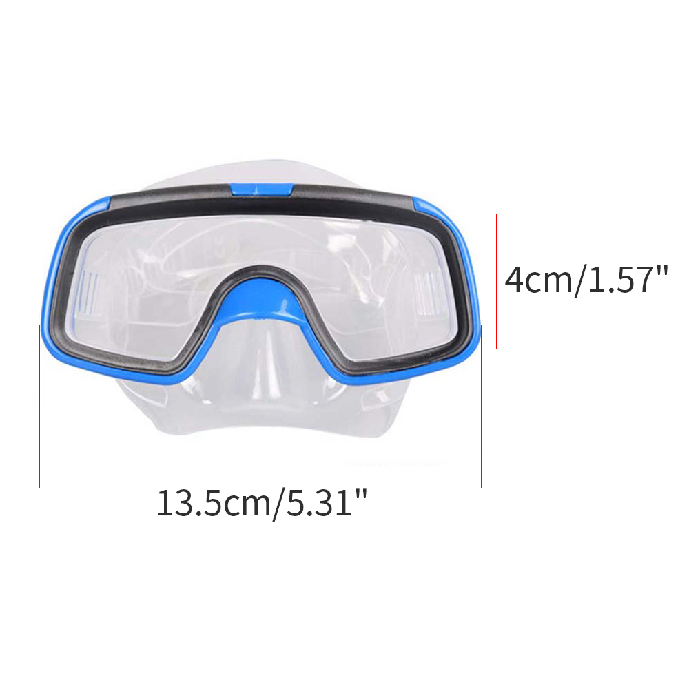 Kids Diving 3 Pieces Suit Mask Fins Set Anti fog Snorkel Mask Swimming Fins Diving Equipment Children Goggles Swim Flippers Mask in Waist Support from Sports Entertainment