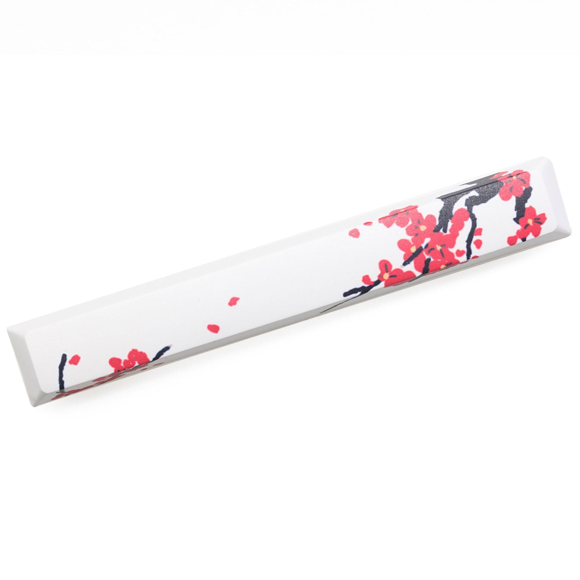 Mstone Novelty Allover Dye Subbed Keycap Spacebar Pbt Custom Mechanical Keyboard Beauty Of Spring  6.25u Cherry Profile