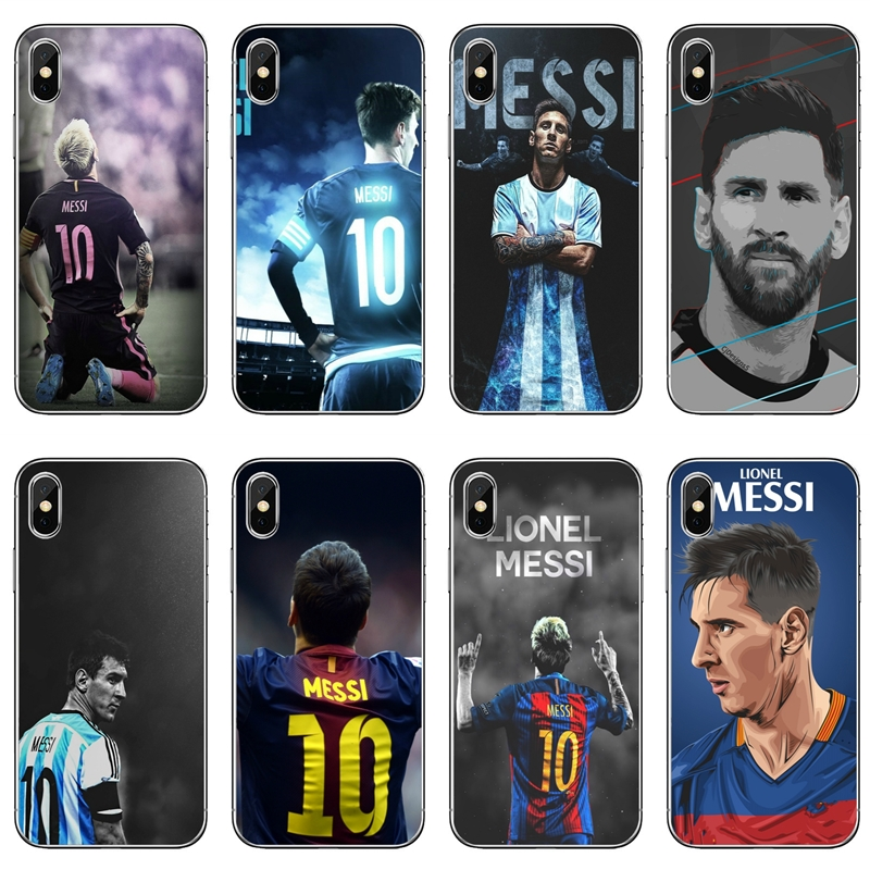Soft-Cover-Case Football Lionel Messi Huawei P30 Samsung Galaxy Star A60 for A10 A30/A40/A50/..