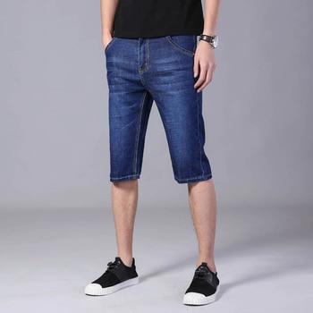 Shorts Men Stretch Jeans Short Men Streetwear Mens Casual Shorts Slim Fitness Shorts for Men Summer Men's Denim Shorts 1