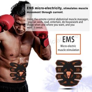 Image 3 - Telecomando USB di Smart SME Trattamento Impulso Elettrico Massaggiatore Addominale Muscolo Stimolatore Per Il Fitness A Casa 10 Livelli di Intensità 6 Modalità