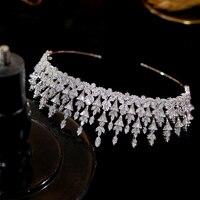 Asnora luxury bride tiara wedding