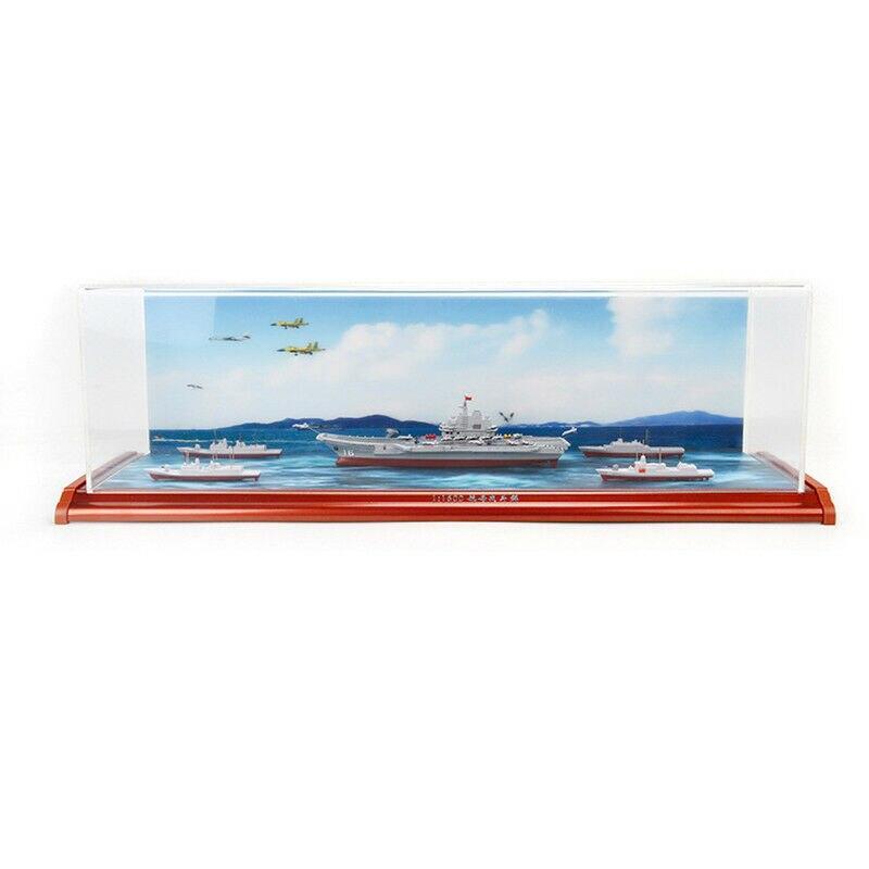 Portaaviones chinos LiaoNing grupo de batalla barco 1/1600 aleación modelo de simulación - 3