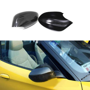 E89 Carbon Fiber Side Rear view Mirror Cap Cover For BMW Z4 E89 30i 28i 20i 18i 2009 2010 2011 2012 2013 image