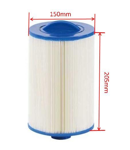 Hot Tub Filter Pool Spa Filter Hot Tub Cartridge 205x150mm 8'x6' SAE Thread
