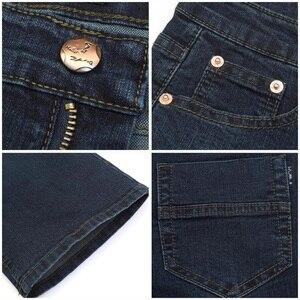 Image 5 - משלוח חינם זכר פעמון תחתון ג ינס מכנסיים slim שחור צופר אתחול לחתוך ג ינס בגדי גברים מזדמנים עסקים אבוקות מכנסיים 36