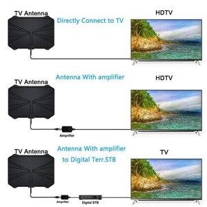 Image 5 - 4K antenne HDTV numérique antenne amplifiée intérieure 1180 Miles de portée HD1080P DVBT2 Freeview TV HD antenne de télévision numérique