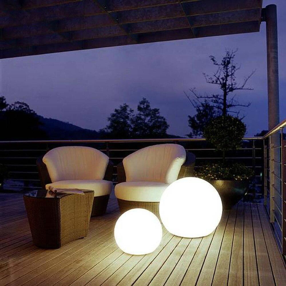 Lampadaire boule moderne Simple PVC salon sur pied lampe chambre lumières chevet déco maison lampadaire couleur