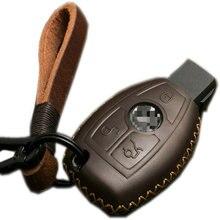 Kluczowa nakładka na klucz do Mercedes Benz klasa C S klasa E klasa C200L GLA GLC GLE GLK
