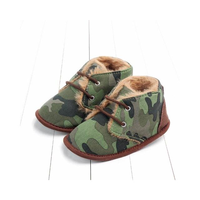 Купить зимние ботинки для младенцев; плюшевая обувь кроватки с леопардовым картинки цена