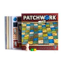 Patchwork Jogo de Tabuleiro Para Dois Jogadores Do Partido Engraçado Jogos Cartões de Papel Versão Chinês/Inglês