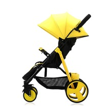 YoyaplusBaby stroller Lightweight stroller Baby cart Portable Baby  trolley  baby car multicolor High landscape Gig wheels 4 colors baby stroller children car walkers with wheels children trolley slippery car skateboard baby walker scooter