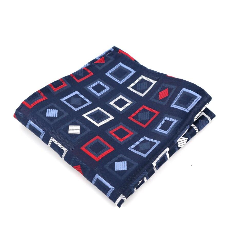 YISHLINE 31 Color NEW Mens 100% Silk Pocket Squares Plaid Floral Stripes Man Handkerchief Wedding Party Accessories Men Hankies