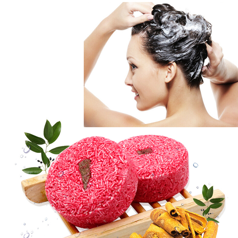 Handmade Anti Dandruff Hair Shampoo Soap Natural Plant Essence Fragrance Shampoo Soap Oil-control Cleaning Smooth Hair Shampoos