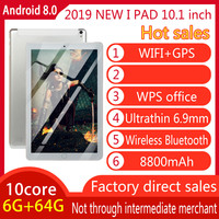Original 10 inch Full screen Dual card Tablet WIFI Andriod 8.0 System Ten core Large Memory 6G Memory +16/64G ROM Tablet|Tablets|Computer & Office -