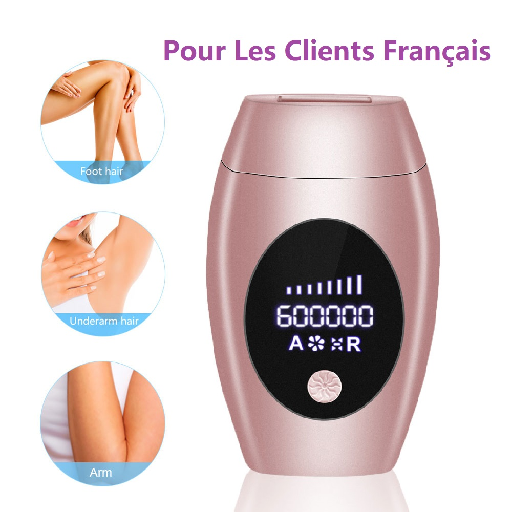 Epilator Hair-Removal-Machine Lcd-Display Laser Ipl Permanent-Laser 600000 Flash Professional title=